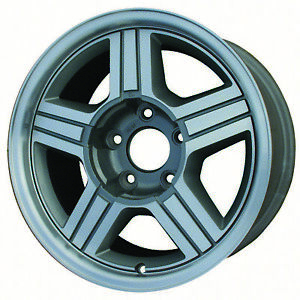 05014 Refinished Chevrolet Camaro 1991 1992 16 Inch Rear Wheel Machined And Grey