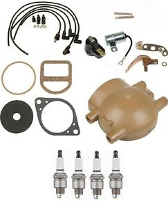 Complete Tune Up Kit For Ford 9n 2n 8n Tractors With Front Mount Distributor