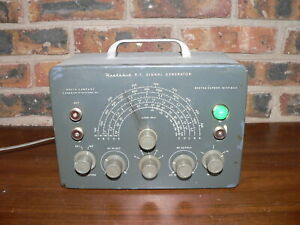 Vintage Heathkit Model Sg 8 R f Signal Generator Radio Test Equipment Untested