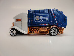 Hot Wheels Custom Garbage Rod With Real Rider Wheels And Rubber Tires