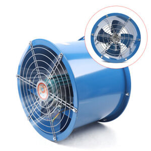 Cylinder Pipe Fan Explosion proof Flow Fan Kitchen Cylinder Pipe 1000 2000m h
