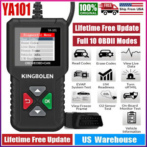 Car Bluetooth Obd2 Code Scanner Reader Elm 327 Automotive Diagnostic Tool Obdii