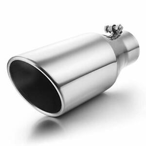 Exhaust Tip 3 Inlet To 5 Outlet A karck 12 Overall Length Polishing Bolt O