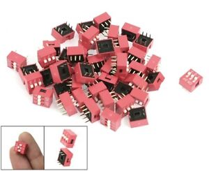 S803 10 Piece Dip Switch 3 polig Rm 2 54 Micro Coder Slide Switch Piano