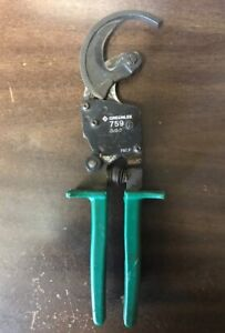 Greenlee Compact Ratcheting Cable Cutters Model 759