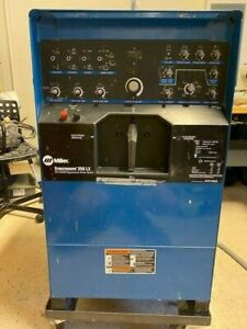 Miller Syncrowave 350 Lx Cc ac dc Squarewave Power Source Tig Welder