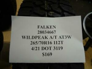 1 New Falken Wildpeak A t At3w 265 70 16 112t Tire 28034667 Q1
