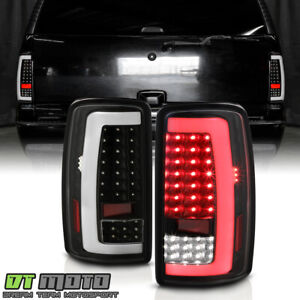 2000 2006 Chevy Suburban Tahoe Gmc Yukon Led Tube Tail Lights Lamps Left Right