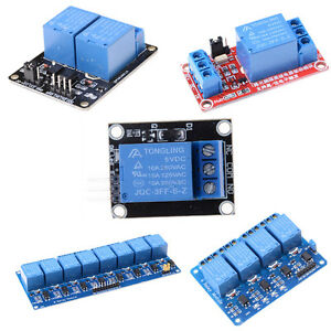 5v 1 2 4 8 Channel Relay Board Module Optocoupler Led For Arduino Pic Arm_shecm