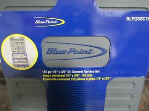 Blue Point 155 Piece Sae metric General Service Set New