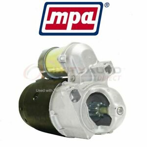 Mpa Starter Motor For 1978 1980 Pontiac Catalina Electrical Charging Rl