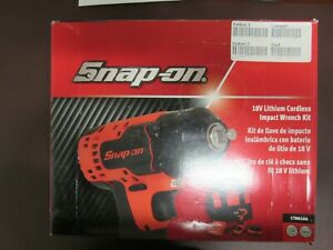 Snap On 18 Volts With 3 8 Drive Lithium Cordless Impact Wrench Kit