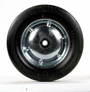 Apex Hand Truck Replacement Wheel 8 X 1 75 Solid Rubber