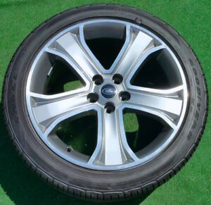 Factory Range Rover Sport Wheels Tires 4 Genuine Oem Supercharged 20 Inch Land