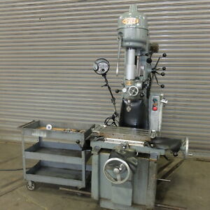 Moore No 1 1 2 Precision Jig Borer Well Tooled