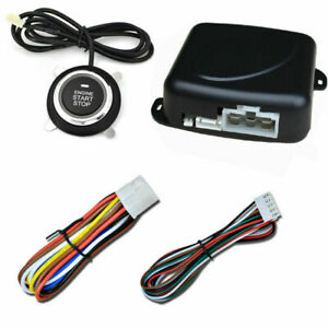 Universal Car Keyless Entry Push Button Remote Engine Start Stop Alarm System