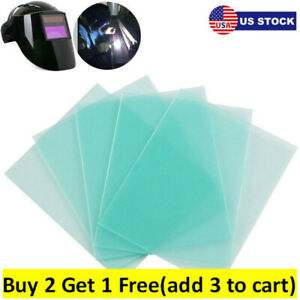 10x Clear Pc Welding Protective cov Er Lens Plate Welding Helmet Replacement