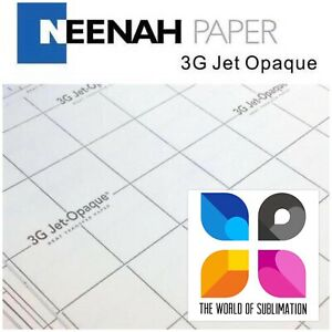 3g Jet Opaque Inkjet Heat Transfer Paper 8 5 x11 50 Sheets Iron On Dark