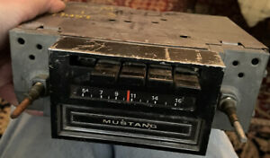 1971 Ford Mustang Am 8 Track Radio