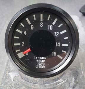 Vdo Pyrometer Exhaust Temperature Gauge 310 035