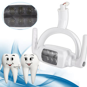 6 Led Dental Teeth Lamp Oral Light Induction Unit Operating Light For Chair Tool