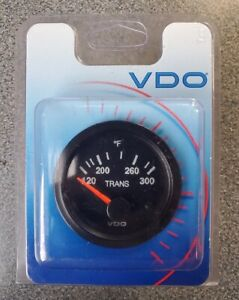 Vdo Transmission Temperature Gauge 310 111 120 300f