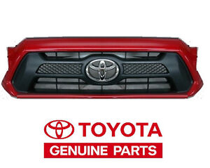 Genuinetoyota 2012 2013 2014 Tacoma Sport Barcelona Red Grille Oem Oe New