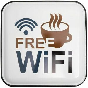 Free Wifi Internet Sign 11 75 x11 75 For Bar Restaurant Caf Coffee Shop Stores