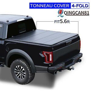 Hard Quad Fold Tonneau Cover For 2009 2021 Dodge Ram 1500 5 6ft Truck Bed