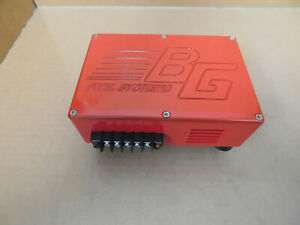 Barry Grant Nos 180300 2 Step Fuel Pump Power Step Down Box Red Aluminum
