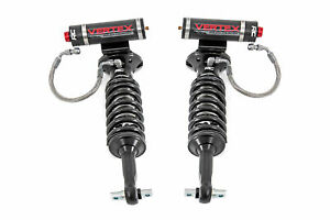 Rough Country Front Vertex Adjustable Strut Coilovers For 07 18 Chevy Gmc 1500