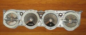 Dodge Charger 1966 1967 Complete Instrument Cluster W tach