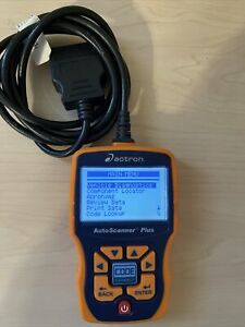 Actron Cp9580a Auto Scanner Plus Code Scanner Used Excellent Condition