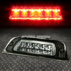 For 02 07 Jeep Liberty Led Third 3rd Tail Brake Light Stop Parking Lamp Smoked