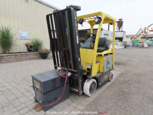 2014 Hyster E30xn 3 000lbs Electric Warehouse Industrial Forklift parts repair