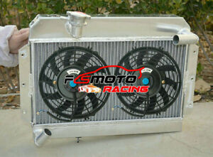 5row Radiator fans For Rover Mg Mga 1500 1600 1622 Cc Twin Cam Deluxe 1955 1962