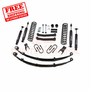 Zone Offroad 45 Withrear Leaf Springs Lift Kit For 84 01 Jeep Cherokee Xj