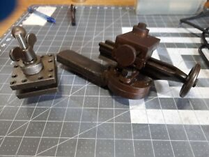 Vintage Lathe Parts Tool Holders Adjustable