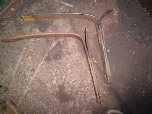 Willys Jeep Truck Front Springs 1 Leaf Cut On Each Parts 1950 S