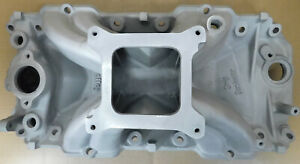 Holley 300 5 Bb Chevy Strip Dominator Sq Port Intake Single Plane 4150 Flange