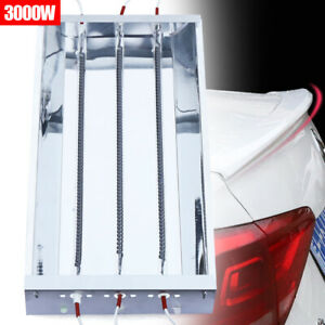 3000w Spray Baking Booth Infrared Ir Paint Lamp Curing Heating Light Body Usa
