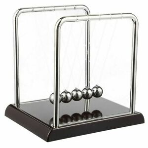Newton s Cradle Demonstrate Newton s Laws With Swinging Balls Desk Decoration