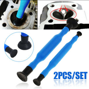 2x Valve Lapping Grinding Stick Valve Lapper Tool With Suction Cups Sticks Kit