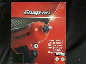 Snap On 1 2 Red Impact Wrench Part Mg725a New