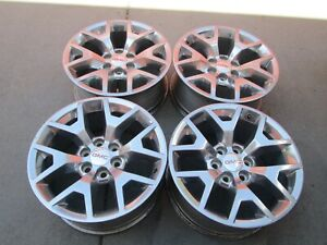 20 Gmc Chevy Tahoe Suburban 1500 Factory Oem Wheels Gmc Polished