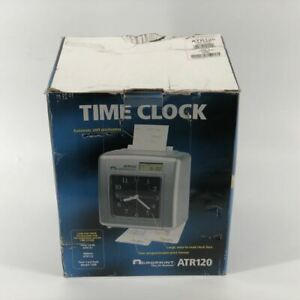 Acroprint Atr120 Automatic Shift Position Time Clock New