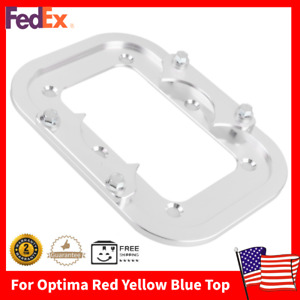 New Battery Tray Holder Mount Hold Down Kit For Optima Yellow Red Blue Top