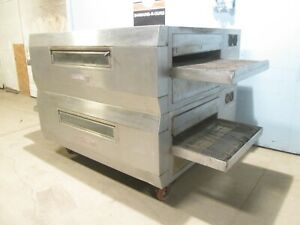 blodgett Mt3270 Commercial Hd Double Stacked Natural Gas Conveyor Pizza Oven
