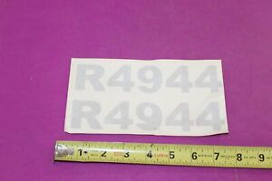 Nos Montana R4944 Tractor Decals Acquired From A Closed Dealership See Pic
