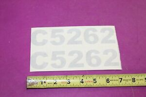 Nos Montana C5262 Tractor Decals Acquired From A Closed Dealership See Pic